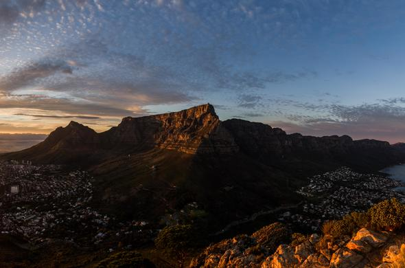 Cape Town sunrise.