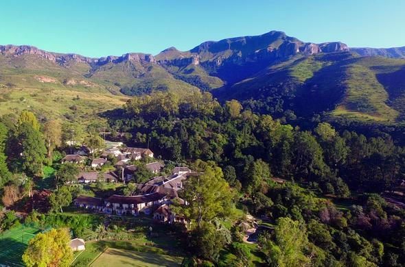 The Cavern Drakensberg Resort and Spa.
