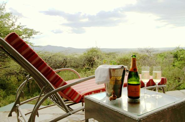View from your private deck at Leopards Ridge Tented Camp. Tanzania