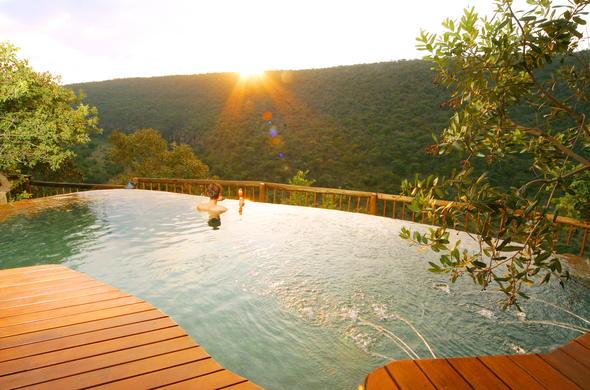 Clifftop Exclusive Safari Hideaway in Welgevonden Private Game Reserve.