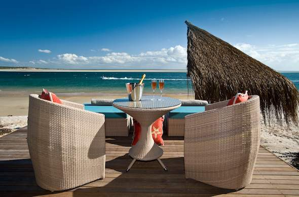 Sip Tails On The Beach Deck Of Dugong Lodge