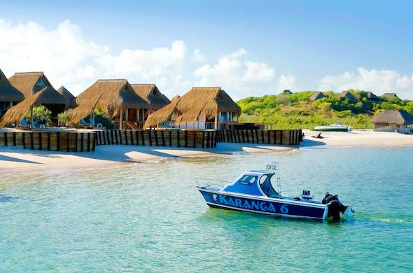 61d6f6a14bb4d7 Boat cruises are offered at Dugong Beach Lodge.