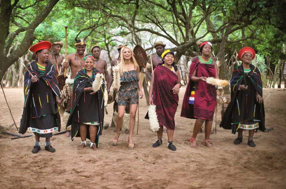 Zulu culture experience in KwaZulu-Natal, South Africa.
