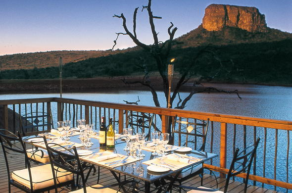 Kingfisher Lodge in Entabeni Game Reserve.