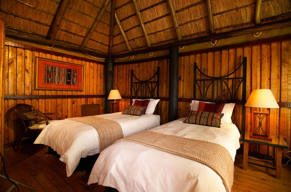 Ravineside Lodge in Entabeni Game Reserve.