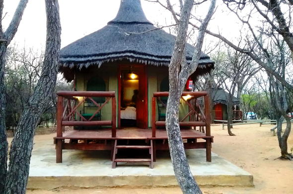 Wildlife Lodge chalet in Entabeni Game Reserve.