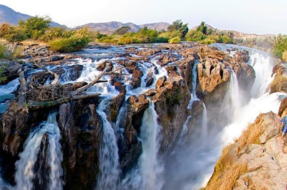 Visit the Epupa Falls in Namibia.