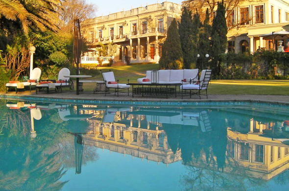 Fairlawns Boutique Hotel and Spa swimming pool.