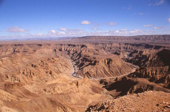 Panorama of Fish River Canyon. Leigh Kemp