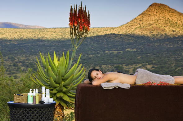Indulge in bush spa treatments in GocheGanas Nature Reserve.