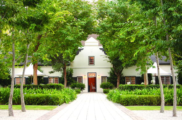 Grande Provence in the Cape Winelands.