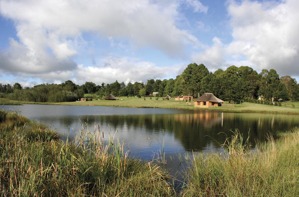 Lodges offering trout fishing in KwaZulu-Natal.