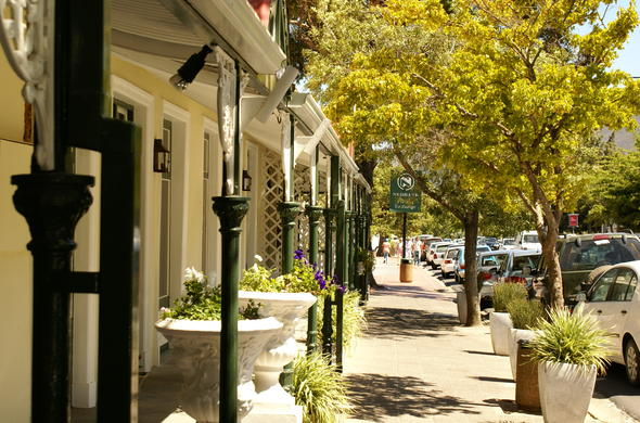 Visit Franschhoek and explore the town.
