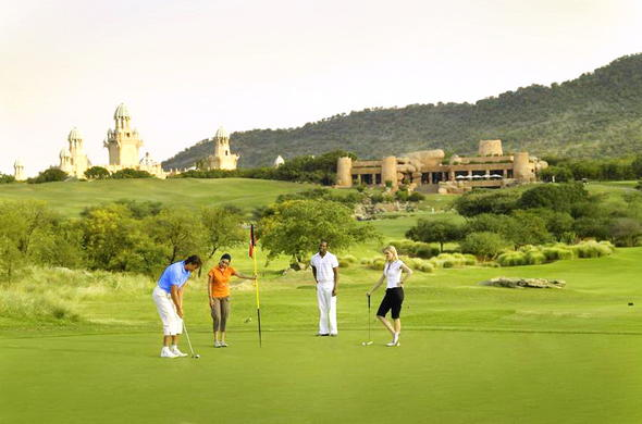 Golf at Sun City.