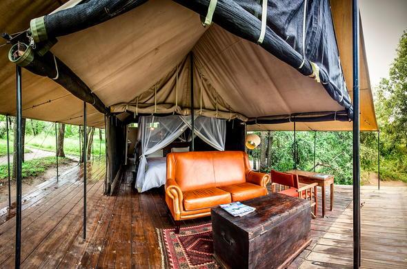 Safari tent at Honeyguide Mantobeni. & Honeyguide Mantobeni Tented Safari Camp | Accommodation