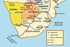Victoria Falls Facts The Colonial Explorers David Livingstone