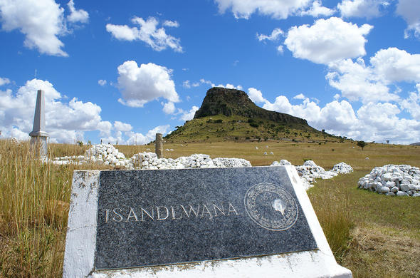 Isandlwana Lodge memorial Battlefield site.