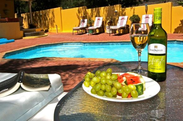Sip on delicious wines and treats at Jordani Bed & Breakfast.