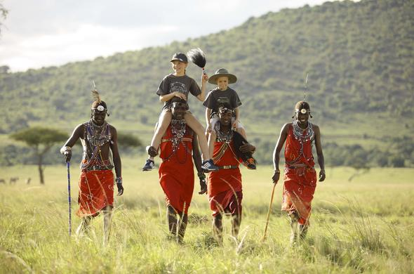 Enjoy a cultural visited to the Maasai village.