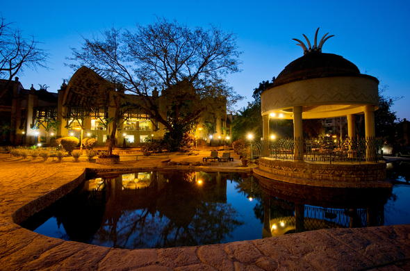 Kingdom Hotel at Victoria Falls.