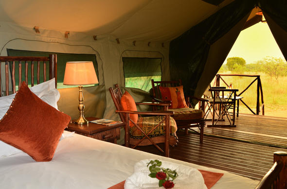 Kwafubesi Tented Safari Camp in the Waterberg Reserve.