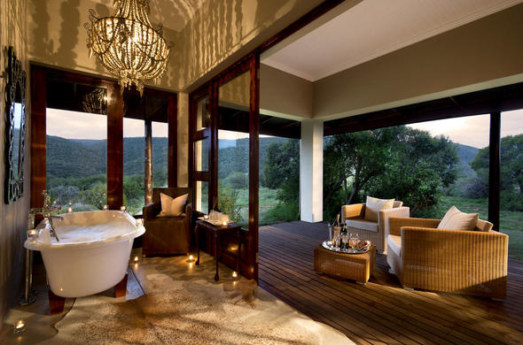 Kwandwe Game Reserve luxury accommodation.