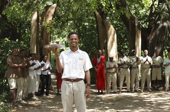 Thee staff of Lake Manyara Tree Lodge welcomes you.