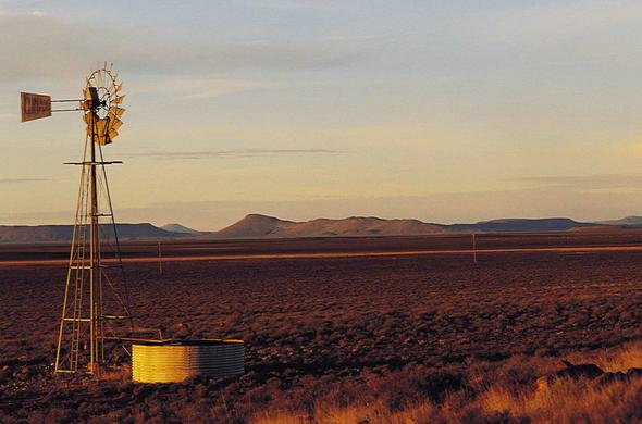 Karoo landscape outside Colesberg, Northern Cape