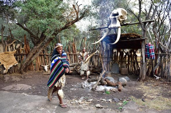The North-West Province is home to the Lesedi Culture.