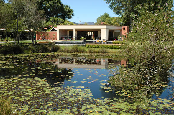 Lily Pond Country Lodge on the Garden Route.