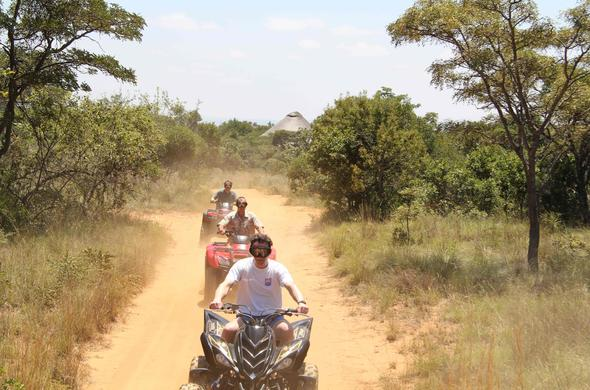 Quad Biking safari in the Limpopo Province.
