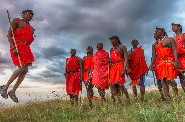 Meet Maasai and experience the culture of Tanzania.