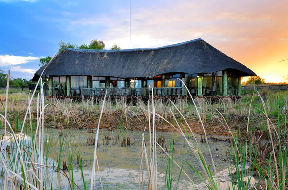 Exterior of Mabula Game Lodge.
