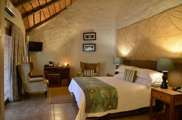 Standard Room accommodation offered at Mabula Game Lodge.