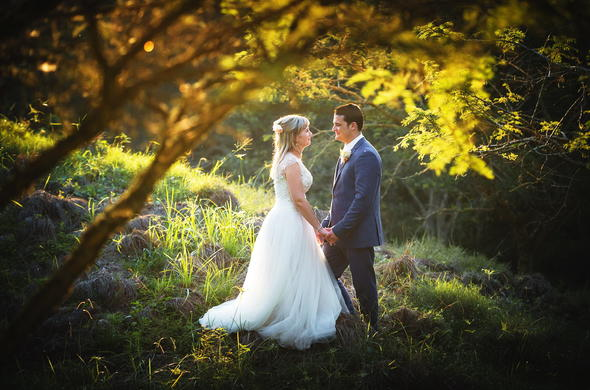 Makaranga Garden Lodge Wedding.