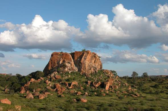 Explore the rock features in the Mapungubwe National Park, Limpopo
