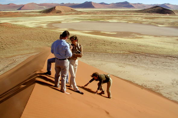 Guide safari i namibia
