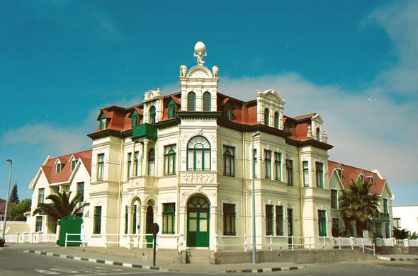 Historic 19th century German architecture in Swakopmund