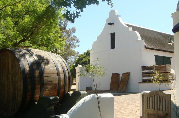 Oude Wellington wine and brandy estate.
