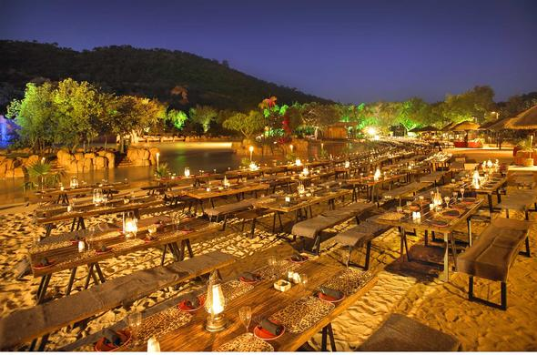 Out-door Conference Banqueting at  Sun City Resort
