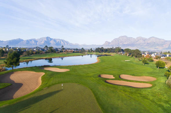 Pearl Valley Golf Course in Paarl, Cape Winelands.