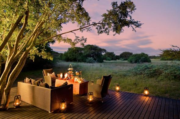 Phinda Forest Lodge at Phinda Game Reserve.