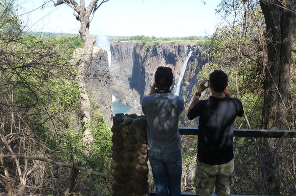 Victoria Falls offers amazing photographic opportunities.