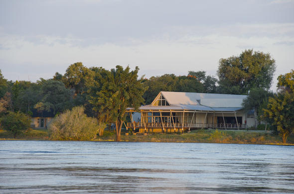 Exterior view of Protea Hotel Zambezi River Lodge.