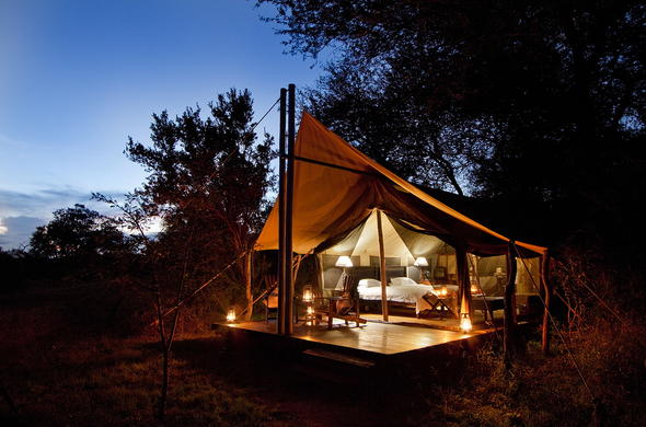 Plains Tented Camp in Kruger National Park.