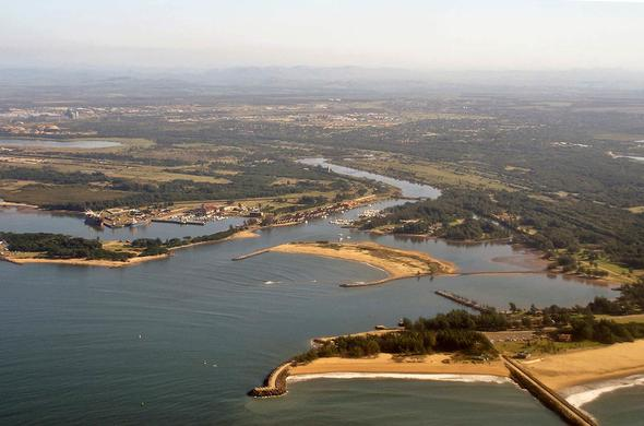 Richards Bay Port.