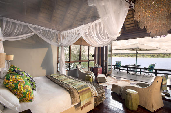 Royal Chundu Zambezi River Lodge.