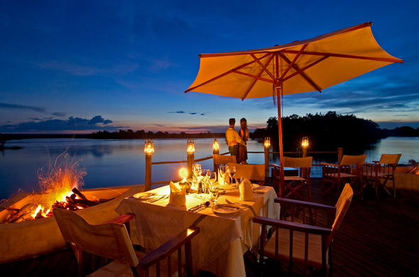 Sussi and Chuma located on the Zambezi River.