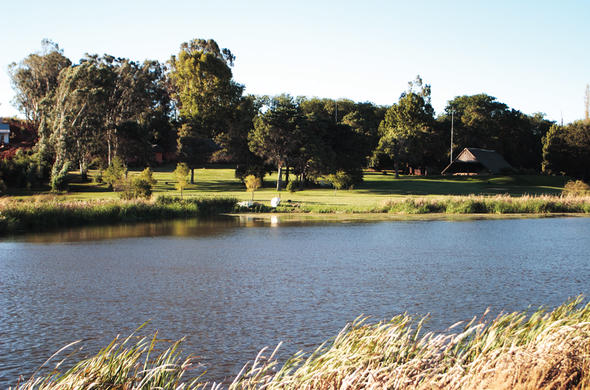 Relax with scenic lake views in Bergville.