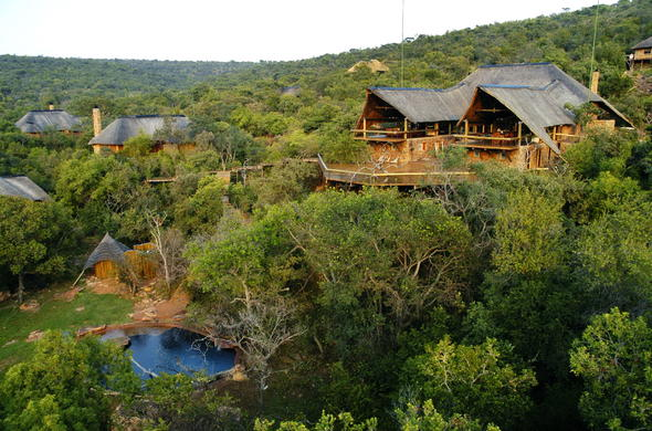 Sediba Game Lodge in Welgevonden Private Game Reserve.